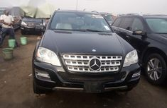 Neat Foreign used Mercedes-Benz M Class 2010 Black