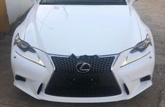 Sell cheap white 2016 Lexus IS at mileage 0
