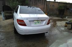 Clean Nigerian used Mercedes-Benz C350 2008 White