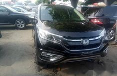 Clean Tokunbo Honda CR-V 2017 Black