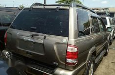 Foreign Used Nissan Pathfinder 2002 Brown Colour