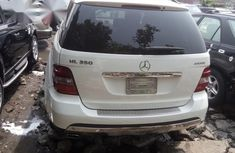 Super Clean Foreign used Mercedes-Benz M Class ML350 2008 White