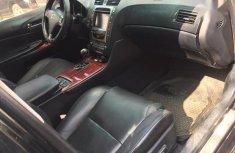 Clean Nigerian used  Lexus GS 2008 Black