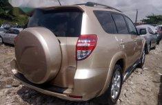 Clean Tokunbo Toyota Rav4 2010 Gold