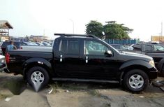 Neat Foreign used Nissan Frontier 2008 Black