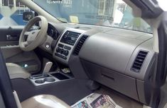 Foreign Used Ford Edge 2008 Silver Colour