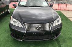 Nigerian Used Lexus ES300 2008 Black Colour