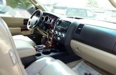 Foreign Used Toyota Sequoia 2013 Red Colour