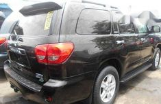 Super Clean Foreign used Toyota Sequoia 2012 Black