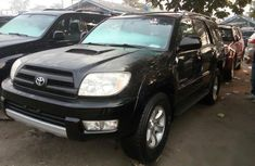 Neat Foreign used Toyota 4-Runner 2005 Black