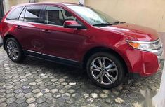 Super Clean Foreign used Ford Edge 2013 Red