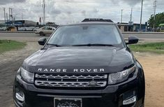 Super Clean Foreign used Land Rover Range Rover Evoque 2015 Black