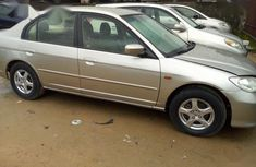 Very clean Nigerian used Honda Civic 1.4i LS 2005 Gold