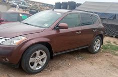 Foreign Used Nissan Murano 2004 SL AWD Red
