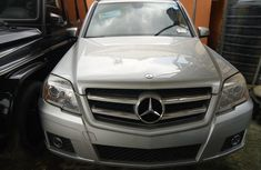 Very sharp neat grey/silver 2010 Mercedes-Benz GLK for sale in Lagos