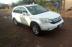 Super Clean Nigerian used Honda CR-V 2010 White