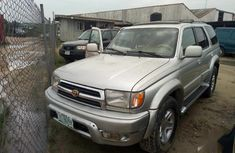 Nigerian Used Toyota 4-Runner 2000 Gold