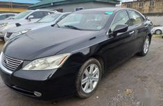 Super Clean Foreign used Lexus ES 2007 Black