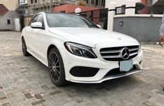 Super Clean Foreign used Mercedes-Benz C400 2016 White