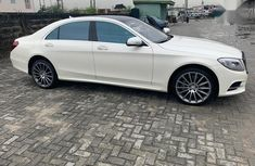 Super Clean Foreign used Mercedes-Benz S Class 2014 White