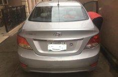 Clean Nigerian used Hyundai Accent 2013 GLS Silver