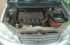 Clean Tokunbo Toyota Corolla 2004 LE Silver