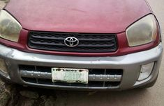 Clean Nigerian used Toyota RAV4 2002 Red