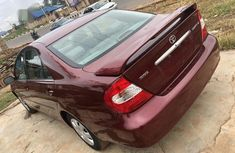 Clean Tokunbo Toyota Camry 2003 Red