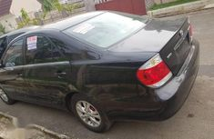 Clean Tokunbo Toyota Camry 2005 Black
