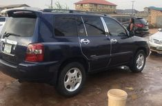 Clea Nigerian  used Toyota Highlander 2006 Limited V6 4x4 Blue