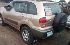 Nigerian Used Toyota RAV4 2004 Automatic Gold