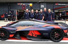 Aston Martin Valkyrie Hypercar worth N1.1b, mesmerizes crowd at Silverstone