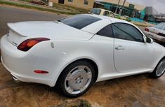 Foreign Used Lexus SC 2005 430 Convertible White