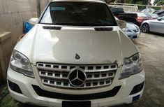 Best priced white 2009 Mercedes-Benz ML350 automatic