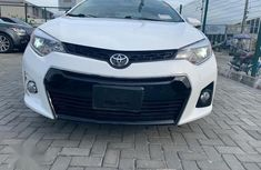 Super Clean Foreign used Toyota Corolla 2014 White