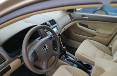 Super Clean Foreign used Honda Accord 2005 Gold