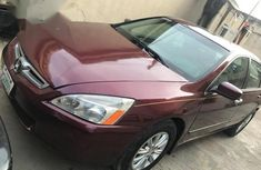 Nigerian Used Honda Accord 2004 Automatic Red