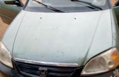 Clean Nigerian used Honda Civic 2000 EX 2dr Coupe Gray