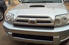 Neat Tokunbo Toyota 4-Runner SR5 V6 2005 Silver