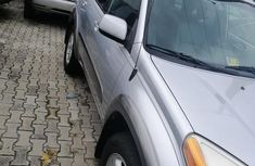 Foreign Used Toyota RAV4 2001 Silver