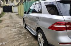 Clean Tokunbo Mercedes-Benz M Class 2014 Silver