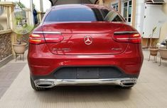 Super Clean Foreign used Mercedes-Benz GLC-Class 2017 Red