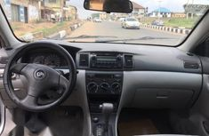 TClean Tokunbo oyota Corolla 2007 LE Silver