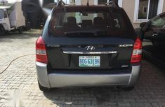 Clean Nigerian used Hyundai Tucson 2006 Black