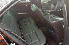 Clean Tokunbo Mercedes-Benz E350 2016 Black