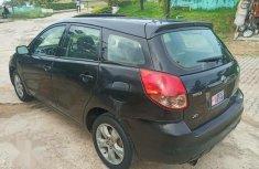 Neat Tokunbo Toyota Matrix 2003 Black