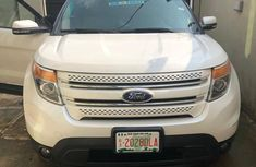 Nigerian Used Ford Explorer 2014 White