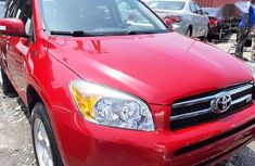 Clean Tokunbo Toyota RAV4 2008 Limited Red