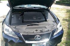 Clean Nigerian used Lexus IS 2009 250 Blue