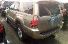 Clean Tokunbo Toyota 4-Runner 2007 Limited V6 Gold